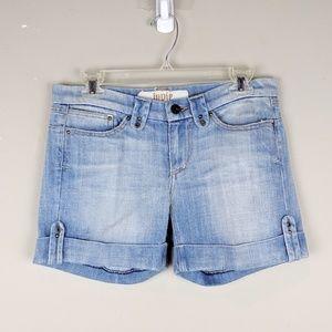 Indie | Light Wash Denim Shorts - E86